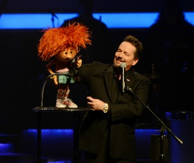 puppet and Man