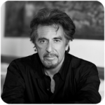b/w of actore Pacino