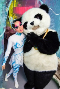 fairy ice princess and panda