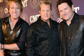 three country singers ACM party
