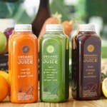 trio of cold pressed juices