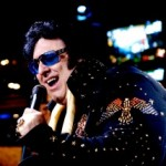 large elvis impersonator