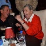 sinatra impersonator and famous comedian