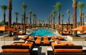 exterior hotel pool and patio