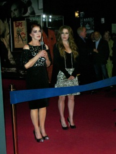 two women on red carpet