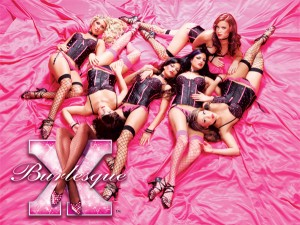 six women on pink sheet