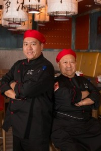 two chinese chefs