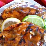 bbq chicken with lime