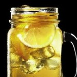 whiskey in glass jar
