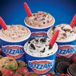 assorted of ice cream blizzards