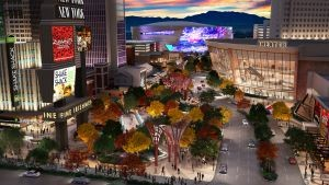 rendering of entertainment park