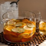 sangria in round pitcher