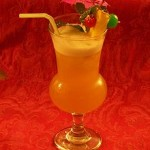 potent rum and fruit cocktail