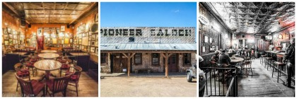 collage pioneer saloon