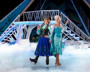 Disney characters on ice