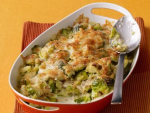 brussel sprouts in casserole