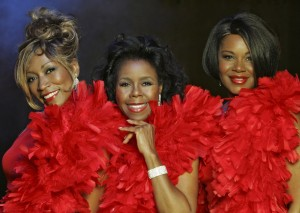 trio of black female singers