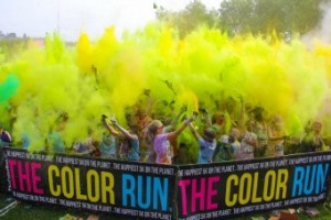 Photo courtesy of The Color RunR