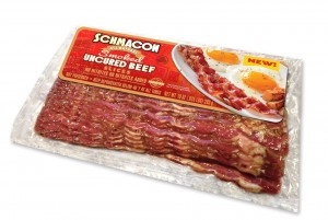 package of beef bacon