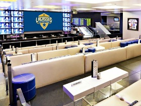 upgraded  sports lounge