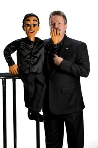 man and puppet