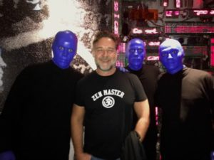 famous actor and blue men