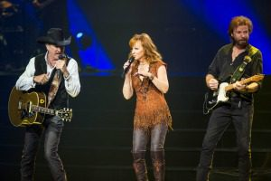 country stars on stage
