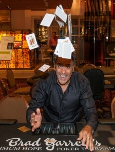 actor with poker cards
