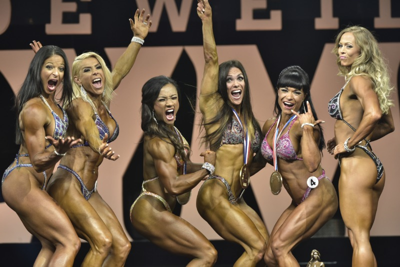 group of body builders