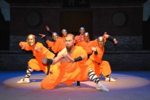 shaolin warrior dancers