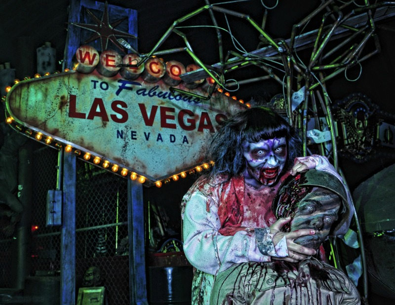 spooky monster in Las Vegas