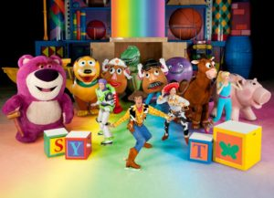 holiday Disney Toy Story on ice