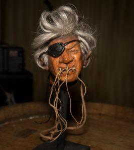 journalists shrunken head