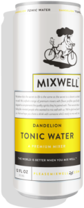 tonic water bottle