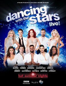 poster of dance contestents