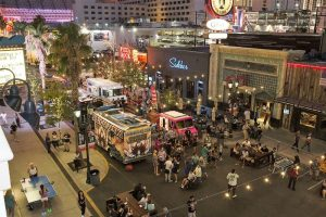 food trucks in street
