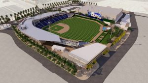 sports arena rendering