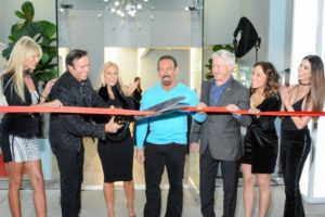 ribbon cutting beauty spa