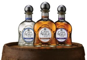 trio of tequila bottles
