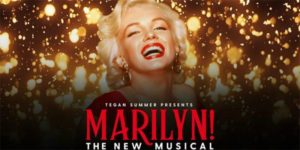 Marilyn M musical poster