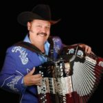 Hispanic accordion player