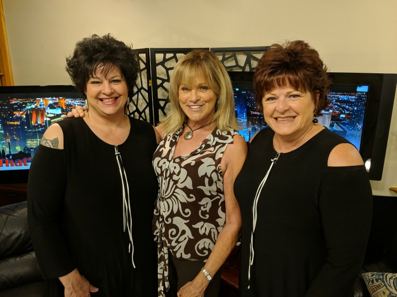 3 women in studio