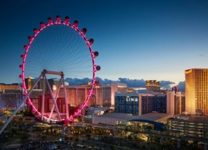 Vegas wheel