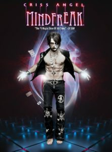 poster of magician Criss Angel