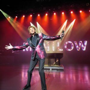 Manilow on stage