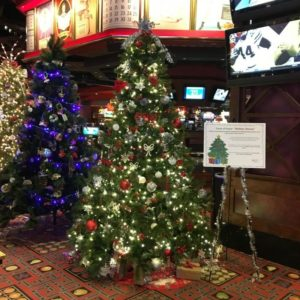 casino Christmas tree