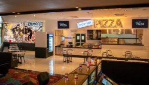 interior pizza shop