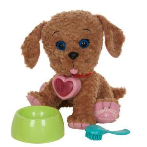 stuffed labradoodle doll