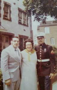 marine and parents