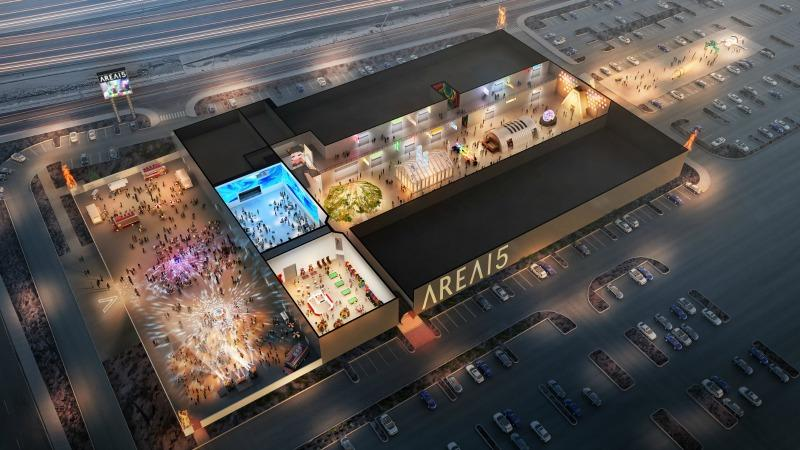 aerial view Area 15